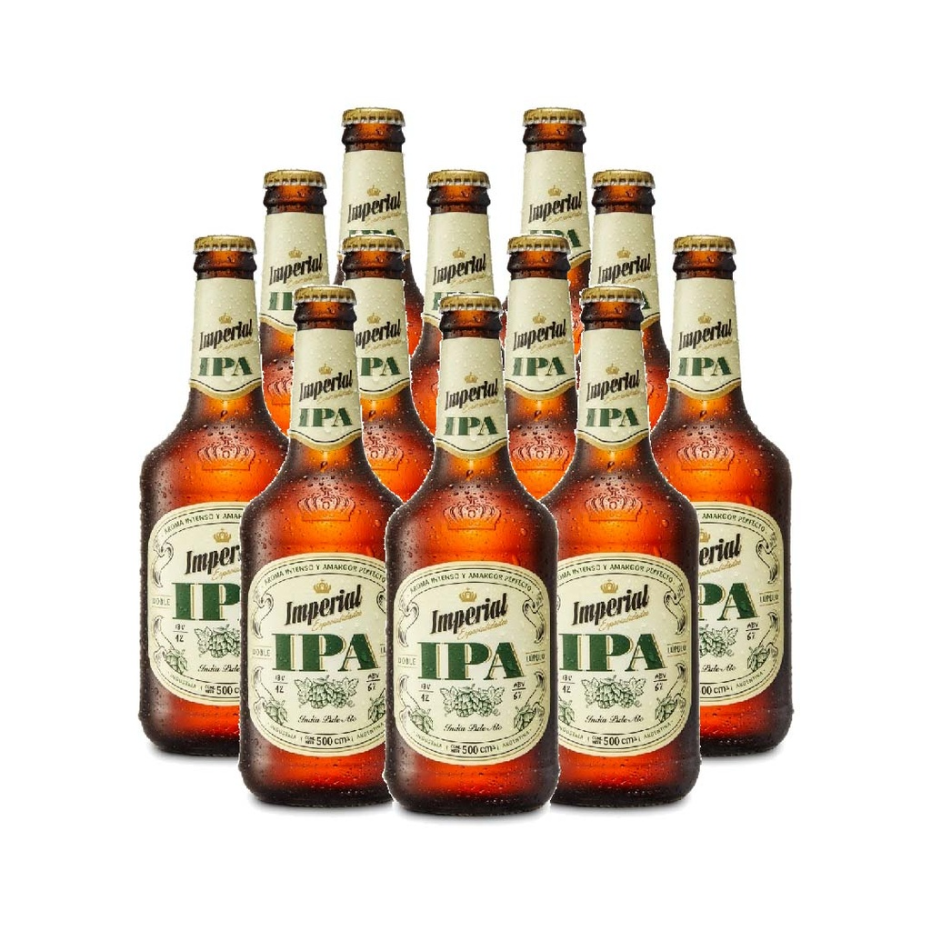 PACK IMPERIAL IPA 500ml X12