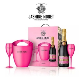 [1469] KIT FRAPERA Y COPAS JASMINE MONET PINK 750ml