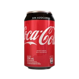 [2505] COCA COLA ZERO LATA 354ml